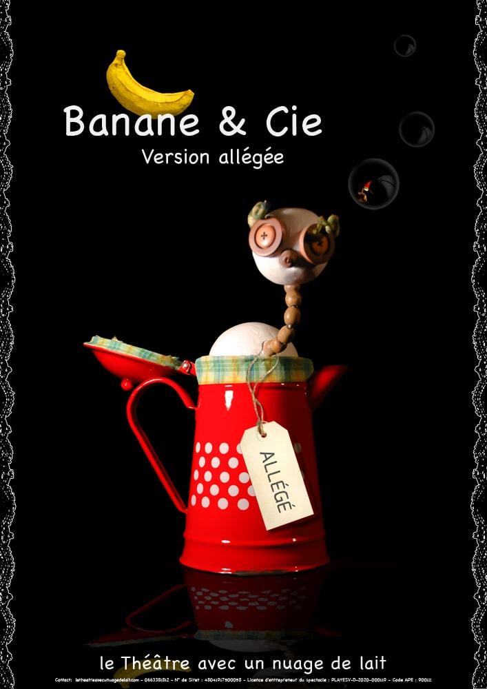 Affiche du spectacle - Banane & Cie