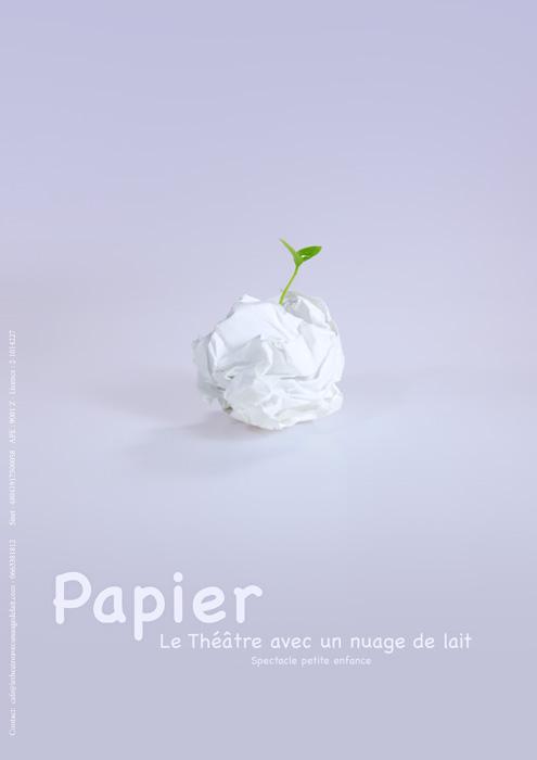 Affiche du spectacle - Papier